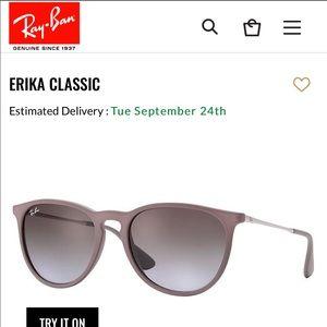 "Ray-Ban ""Erika"" Sunglasses"
